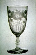 Locke Art Wineglass