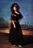 Portrait of Duchess of Alba