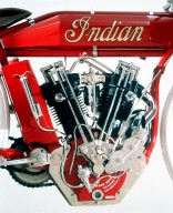 Indian 8-Valve Board Truck Racer Motorcycle