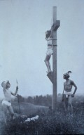 Untitled (Crucifixion with Roman Soldiers)