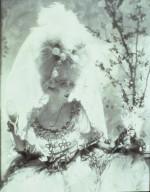 Helen Lee Worthing in a Wedding Dress