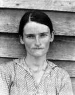 Allie Mae Burroughs, Wife of a Cotton Sharecropper, Hale County, Alabama