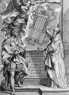 Allegory of Julius II and Constantine with a Plan of Saint Peter's Basilica