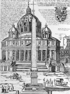 View of Saint Peter's Basilica and Obelisk