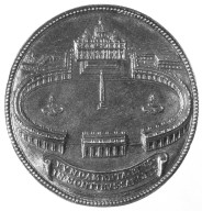 Medal with Bernini's Design for Saint Peter's Piazza