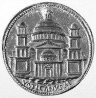 Medal of Julius II: Saint Peter's Basilica