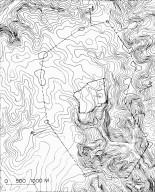 Topographic Map of Jerusalem's Old City