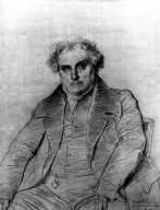 Study for Portrait of Louis Bertin