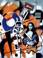 Mona Lisa with Keys