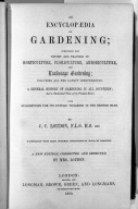 An Encyclopedia of Gardening