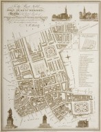 Plan of the United Parishes of Saint Giles in the Fields and Saint George, Bloomsbury