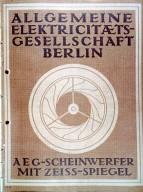 AEG Brochure Cover