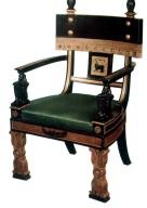 Egyptian Style Armchair
