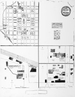 Sanborn Map of Raleigh, July 1884