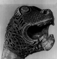 Animal Head from Oseberg Ship Burial
