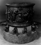 Baptismal Font, from Saint Barthelemy