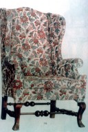 New England Wing Chair