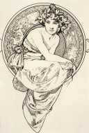 Frontispiece for Clio by Anatole France