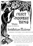 Advertisement for Siegfried Bing