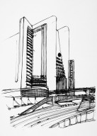 Preparatory Study for High Rise Building