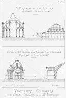 Comparative Visibilities of the Ecole Militaire and Saint Eustache
