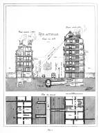 Comparison of a New House (1910) with an Old House (1810)