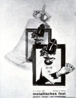 Bauhaus Metallic Festival Poster