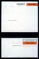 Bauhaus School Letterheads