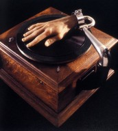 Phonograph with Wax