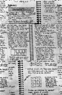 History of Fabrics: Notebook Pages