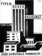 Stadt Kunsthalle Mannheim Poster