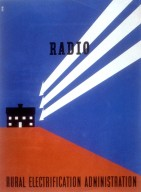 Radio - Rural Electrification Administration Poster