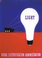 Light - Rural Electrification Administration Poster