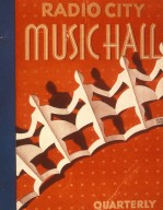 Program Cover for Radio City Music Hall