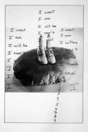 Handwriting of the Artist On a Photograph of Milkman Piece