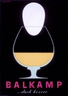 Balkamp - Egg Cognac Poster