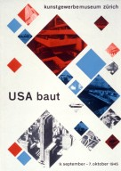 USA is Building Exhibit Poster