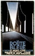 La Route Bleue, Londres-Paris-Cote D'Azur en Autocars de Luxe