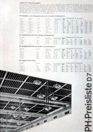 Price List for a Lamp Factory