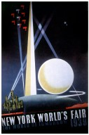 Poster for New York World's Fair - The World of Tomorrow