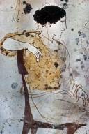 Lekythos with Departure Scene