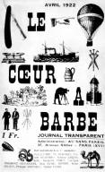 Le Coeur a Barbe: April 1922
