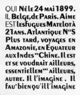 Peignot Typeface