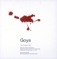 Goya, the Disasters of War Exhibition Poster