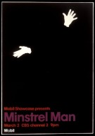 Mobil Showcase Presents 'Minstrel Man' Poster