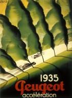 Peugeot Automobile Poster