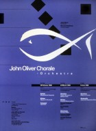 John Oliver Chorale Orchestra Poster