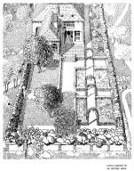 Garden on a Rectangular Plot of 550 Meters