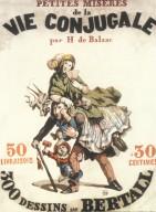 Honore de Balzac's Petites Miseres de la Vie Conjugale Poster