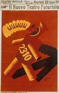 Il Nuovo Teatro Futurista Poster